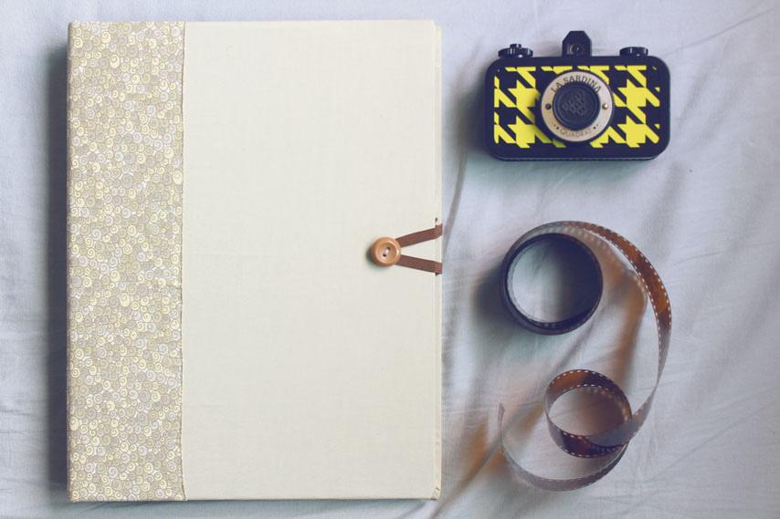DIY: Reaproveite seu fichário e faça um lindo álbum de fotos