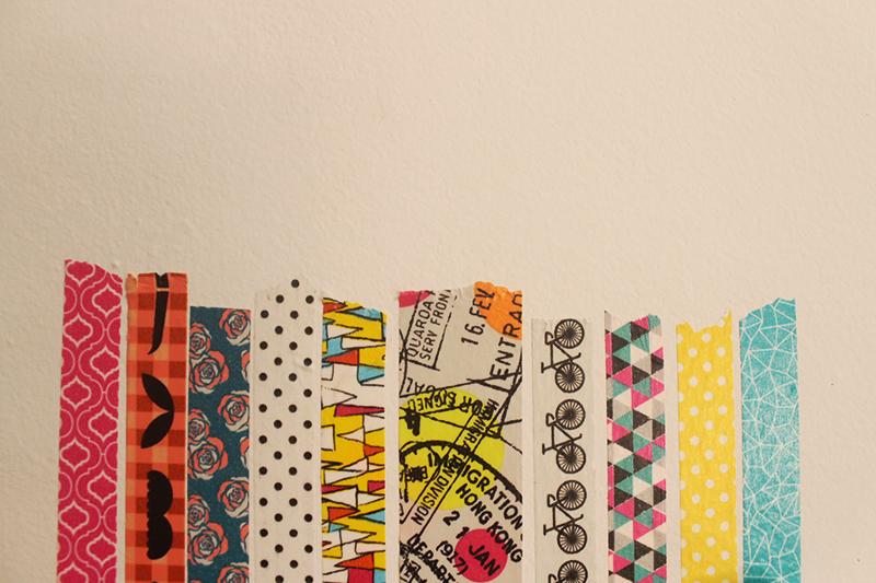 DIY: dê um novo visual à decoração usando Washi Tape