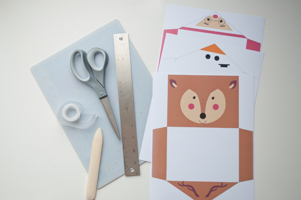 DIY: envelopes fofos de papel para presentear no Natal