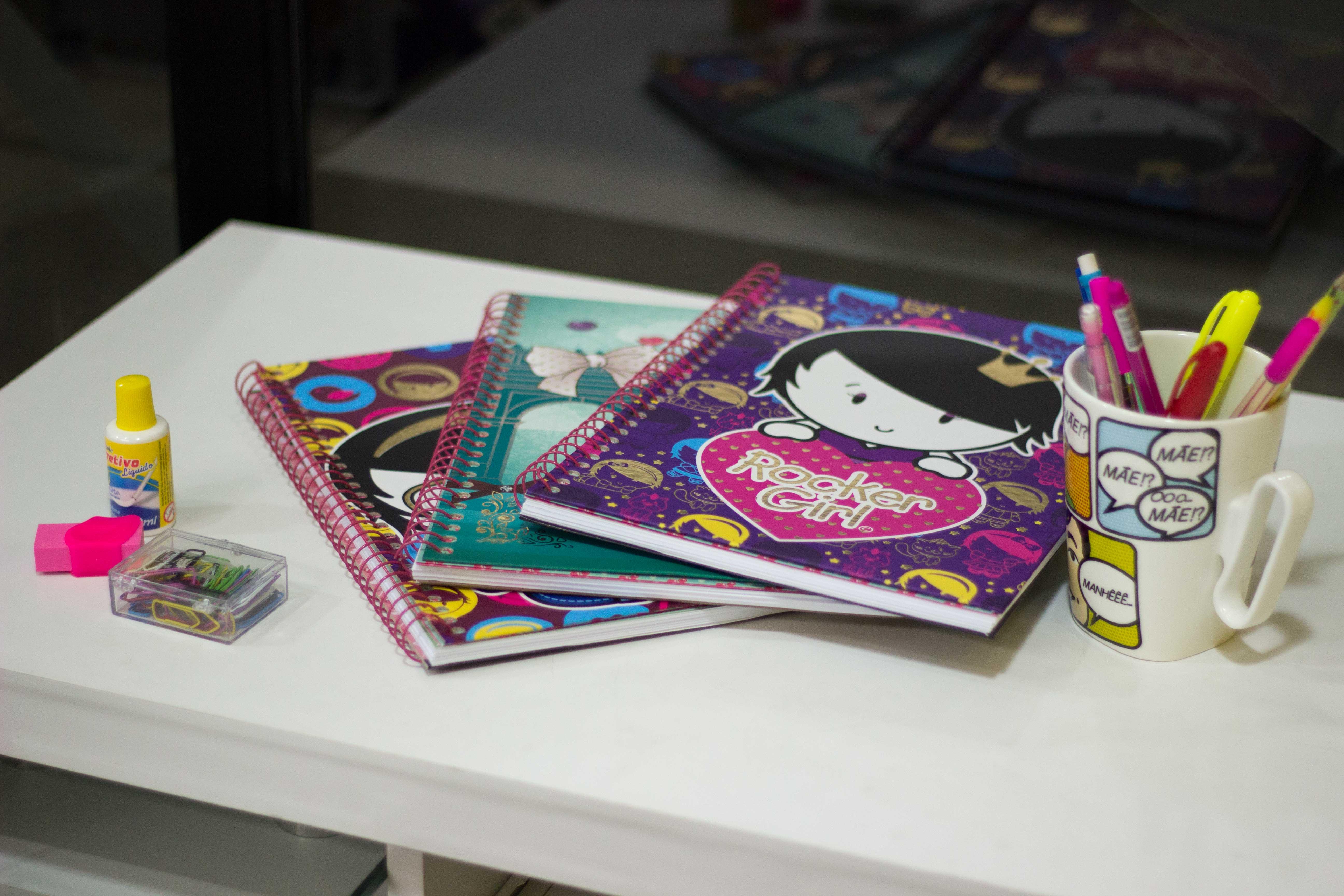 Na escola: saiba qual a caneta certa para deixar seu caderno mais lindo