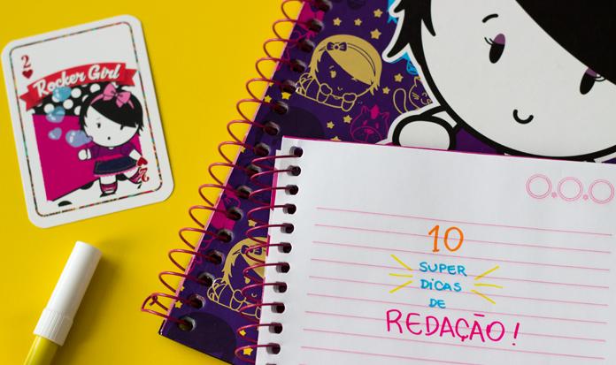 Aprenda a fazer uma redação em 10 passos super fáceis ;)