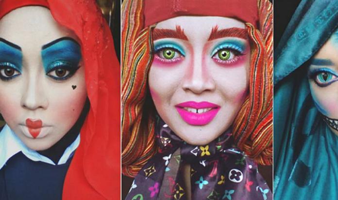 Maquiagem, cores e... véu! Veja como se transformar em personagens divertidas!