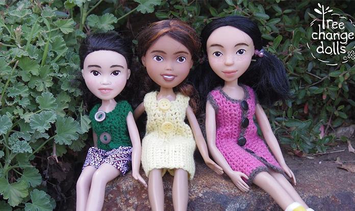 Artista transforma bonecas em crianças!