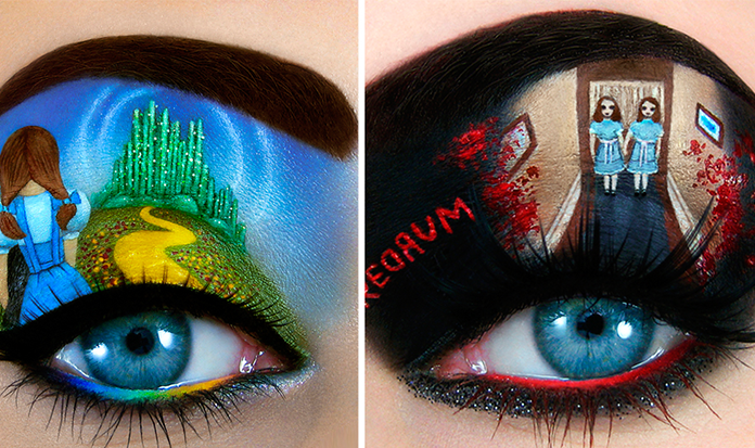 Artista transforma maquiagem em obras primas!!!