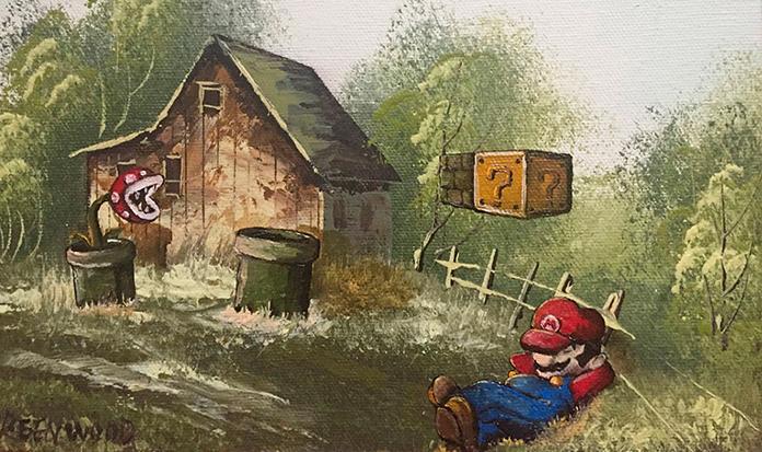 Artista coloca personagens pop em pinturas clássicas e o resultado é genial