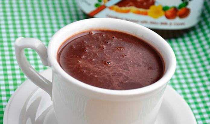 Chocolate quente de Nutella? Branco com Gengibre? Quero ou Claro?!