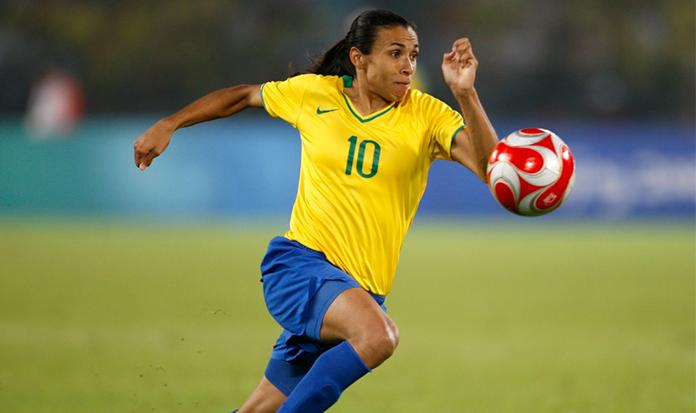 Quem fez mais gols na história da Seleção Brasileira de Futebol? MARTA!