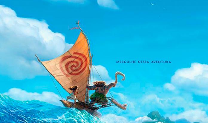 Vem ver o primeiro trailer de Moana!