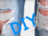 Vem aprender a fazer uma calça destroyed para usar nas férias!