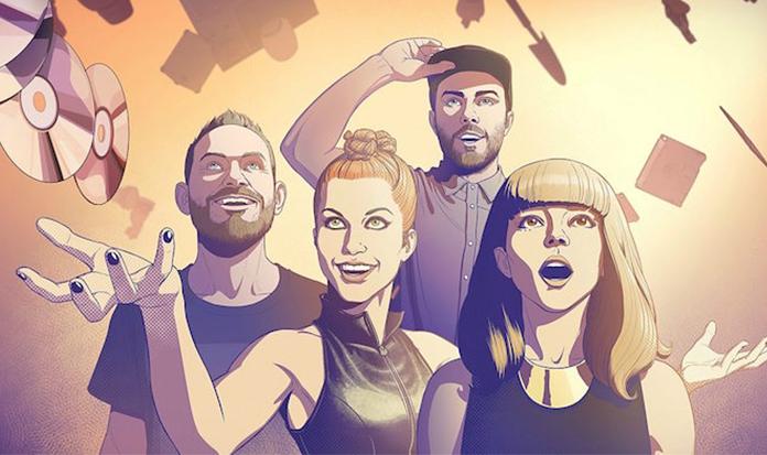 Clipe da banda CHVRCHES traz Hayley Williams em uma aventura de Quadrinhos!