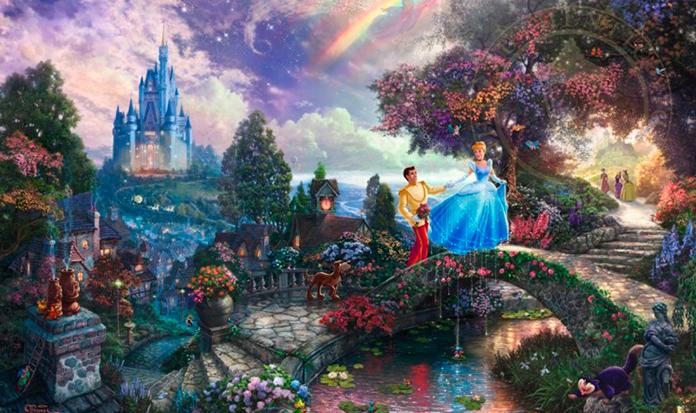 A magia da Disney em pinturas incríveis!