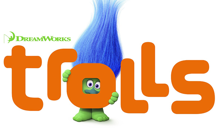 "Vejam o trailer legendado do filme ""Trolls""!"