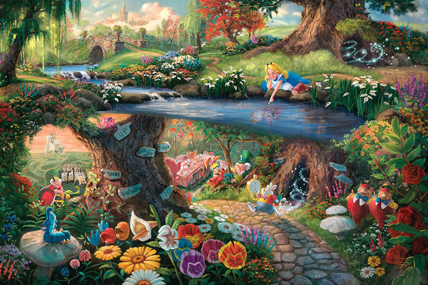 disney-paintings-thomas-kinkade-12