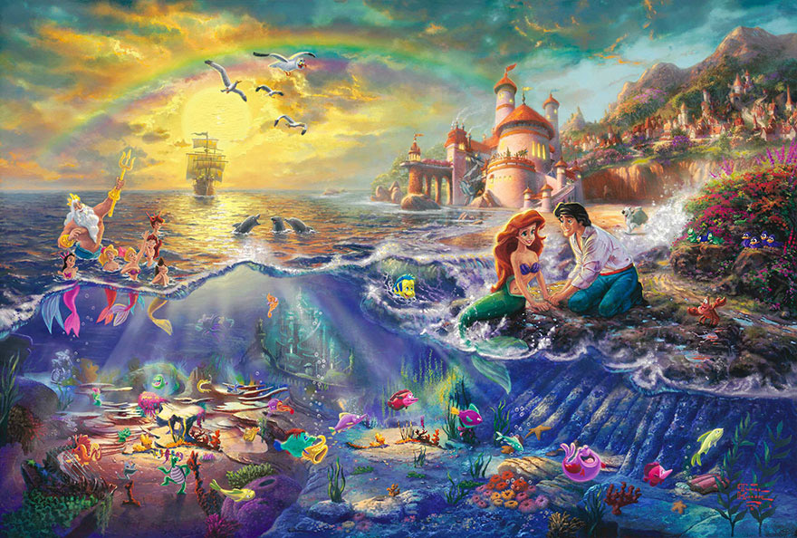 disney-paintings-thomas-kinkade-13
