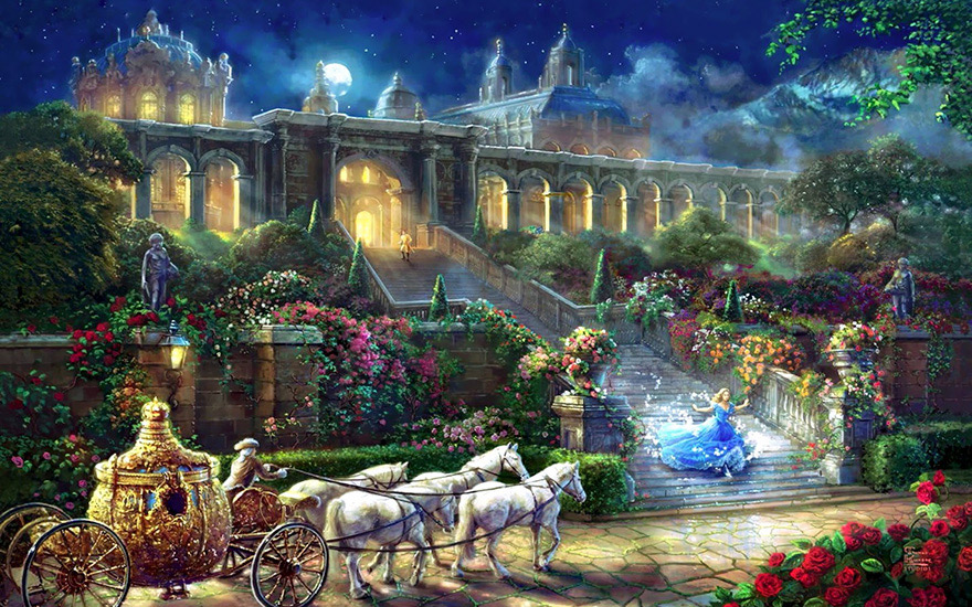 disney-paintings-thomas-kinkade-2