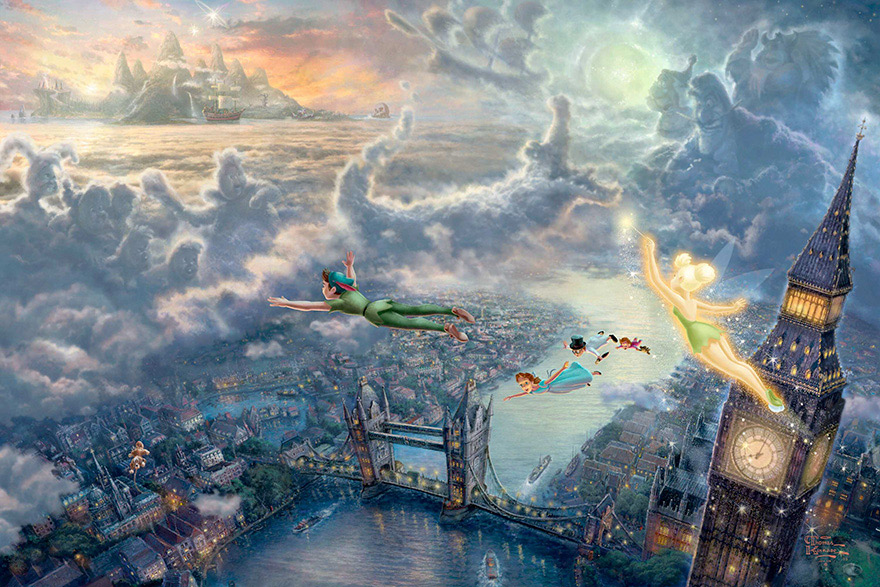 disney-paintings-thomas-kinkade-4