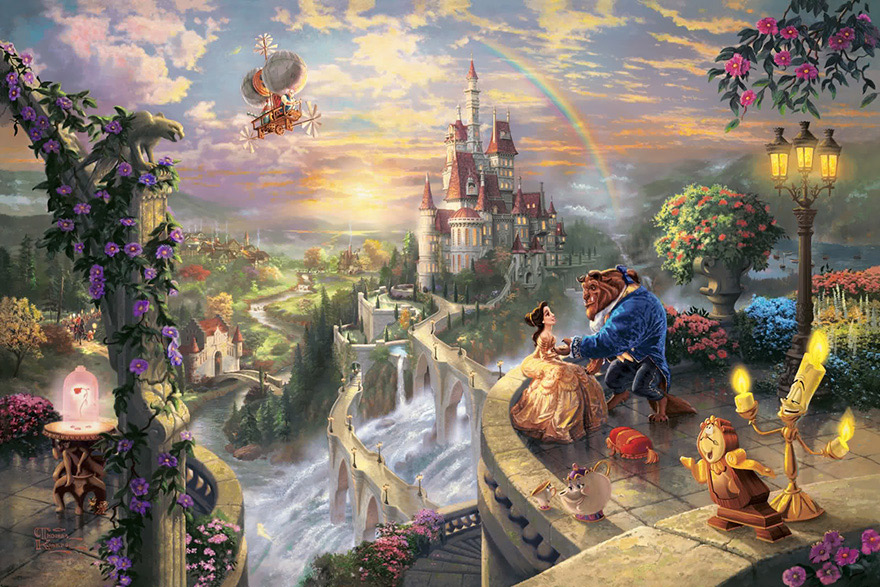 disney-paintings-thomas-kinkade-8