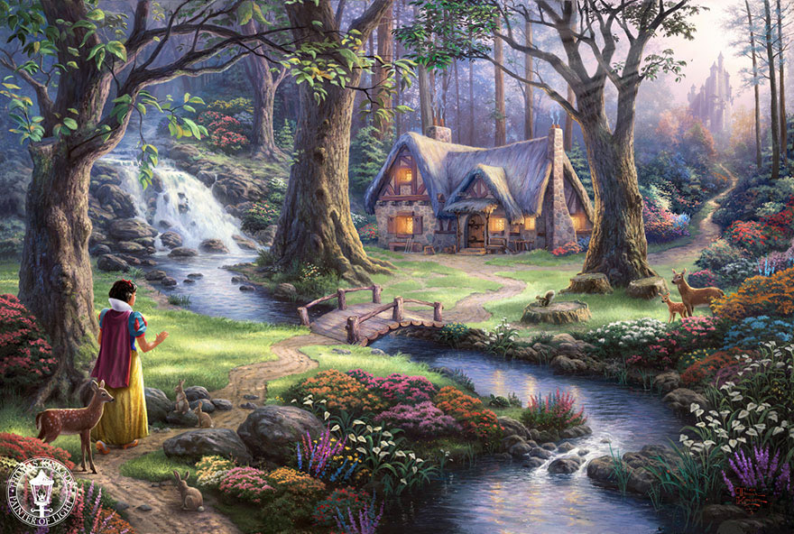 disney-paintings-thomas-kinkade-9