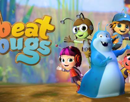 Vem conhecer Beat Bugs, a nova série animada do Netflix