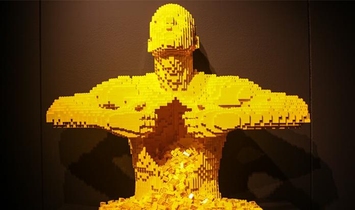 Exposição super legal transforma peças de Lego em obras de arte