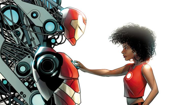 Nova heroína do Homem De Ferro vai ser conhecida como Coração de Ferro