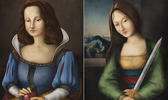 Vem ver as princesas da Disney transformadas em pinturas clássicas renascentistas!