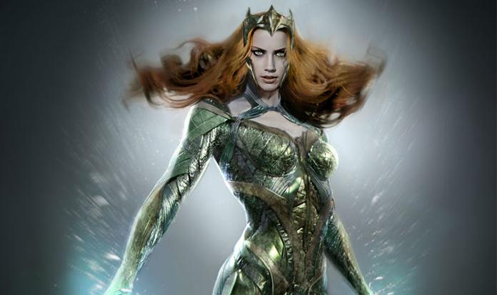 Saiu a primeira de imagem oficial de Mera em 'Liga da Justiça'!