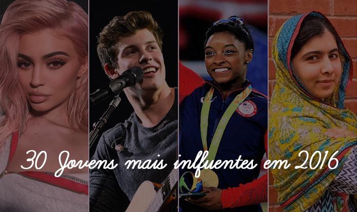 Saiba quem são os jovens mais influentes do mundo em 2016.