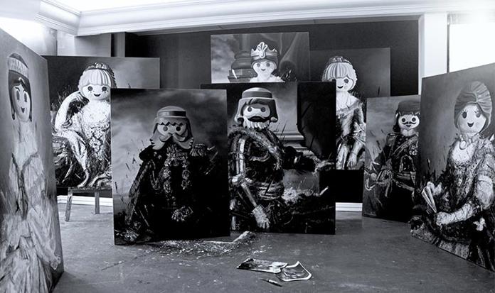 Personagens de Playmobil foram transformados em pinturas clássicas!