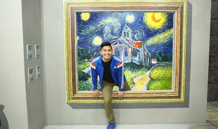 Conheça o museu de artes onde você pode fazer parte da obra!
