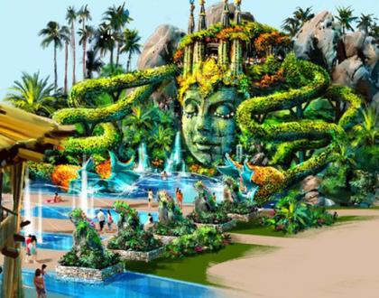 Cirque Du Soleil está construindo um parque temático maravilhoso!