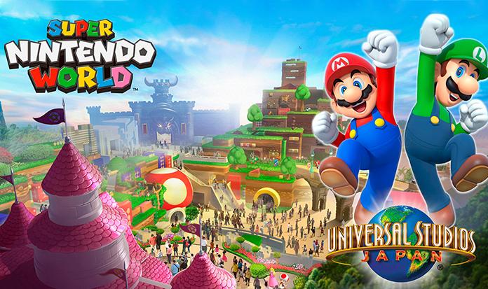 Nintendo divulga imagem do parque temático de Super Mario World, no Japão!