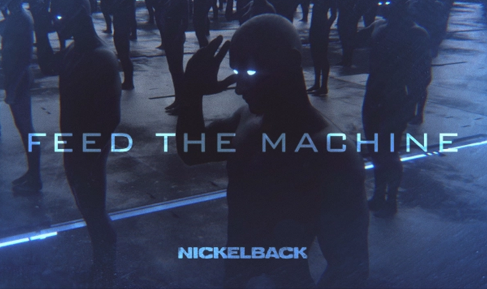 Nickelback lançou lyric vídeo de 'Feed The Machine'