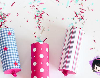 Aprenda a fazer lança confetes fofinhos pro Carnaval!
