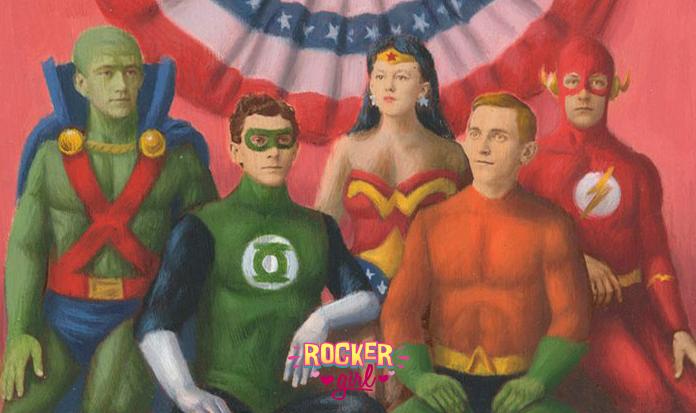 Retratos antigos são transformados em imagens de super-heróis!