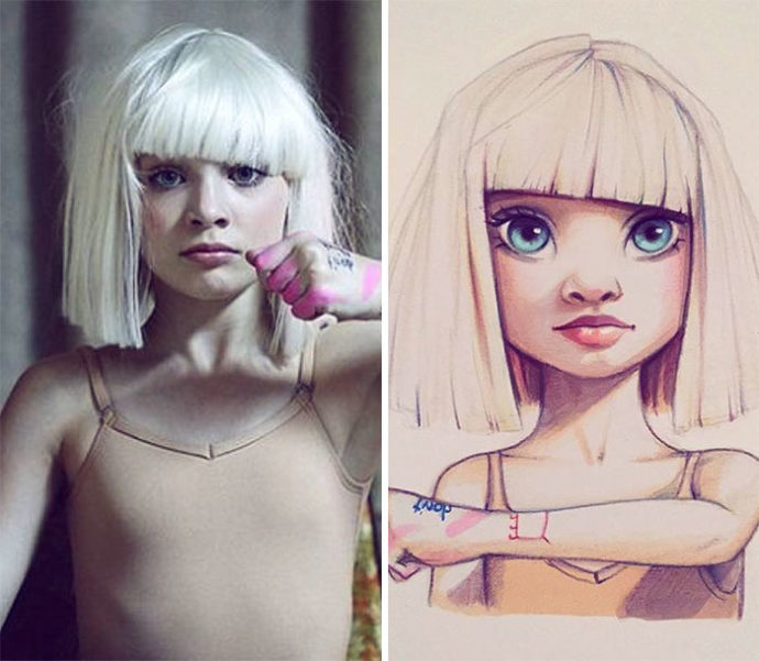Russian-artist-draws-chic-portraits-cartoons-of-celebrities-58d4e5fd08b3b__700-690x601