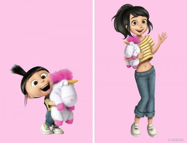 Como Os Personagens De Nossos Desenhos Animados Favoritos Seriam Se Fossem Mais Velhos O Mundo Da Rocker Girl