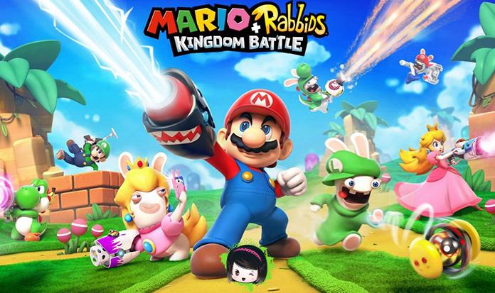 """Finalmente oficializaram o jogo """"Mario + Rabbids Kingdom Battle""""!"""