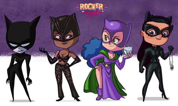 Ilustrações lindinhas mostram a evolução dos super-heróis ao longo dos anos