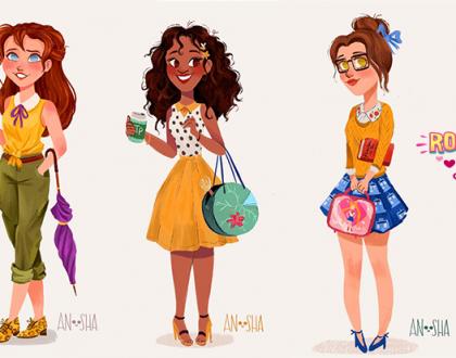 Artista mostra o que as princesas da Disney fariam se vivessem nos dias atuais