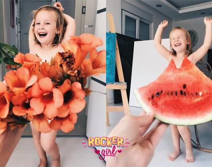 Essa mãe encontrou os melhores 'vestidos' para sua filha