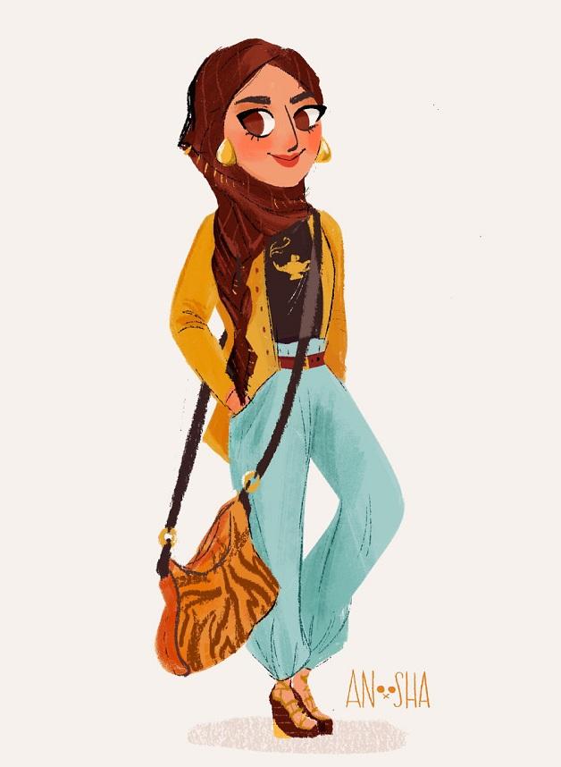 Princesas-da-Disney-vivendo-hoje-em-dia-4
