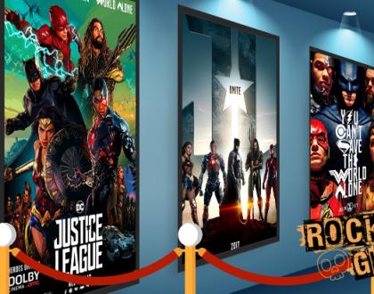 A 'Liga da Justiça' chegou aos cinemas!!!