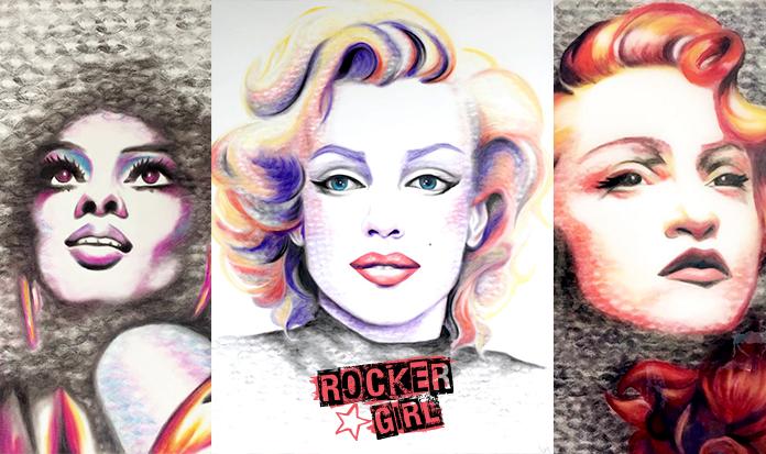 Conheça a Lipstick Lex, uma americana que faz quadros lindos usando batons