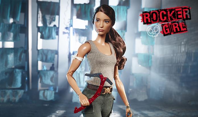Barbie ganha nova roupagem e vira a Lara Croft