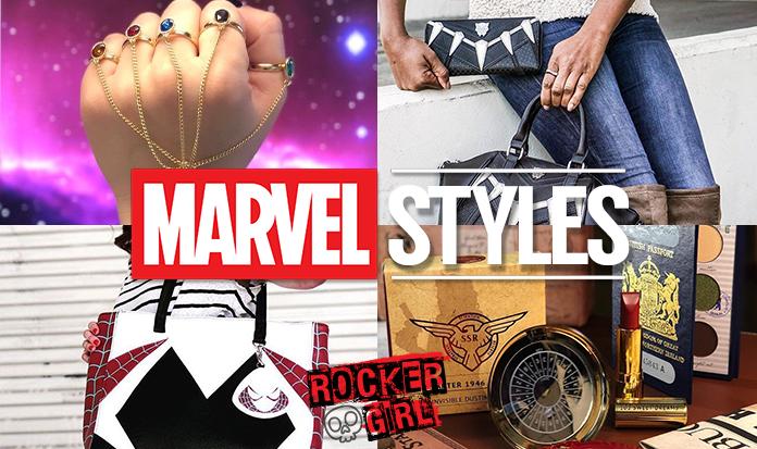 O universo da Marvel no seu guarda-roupas