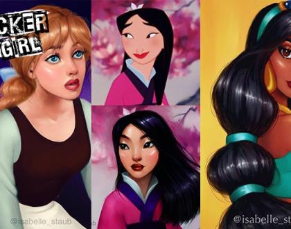 Ilustradora moderniza princesas da Disney, veja como ficou