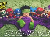 Mini heróis vão te fazer suspirar de tanta fofura