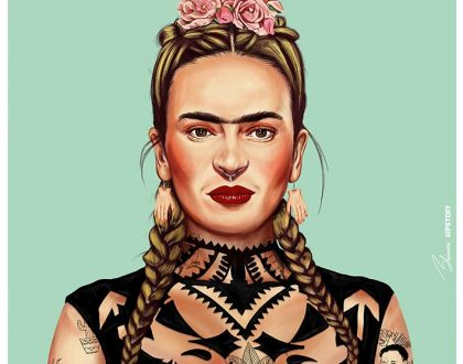 Ilustrador recria artista icônicos como Hipsters moderninhos