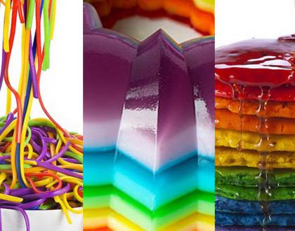 Comida arco-íris
